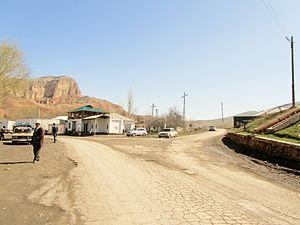 Samat (village) - The main traffic junction in the village of Samat