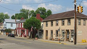 Waynesville, Ohio - Image: Main near Miami in Waynesville