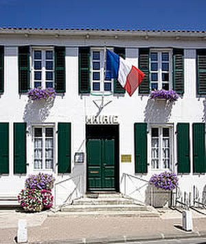 Ars-en-Ré - The Town Hall of Ars-en-Ré