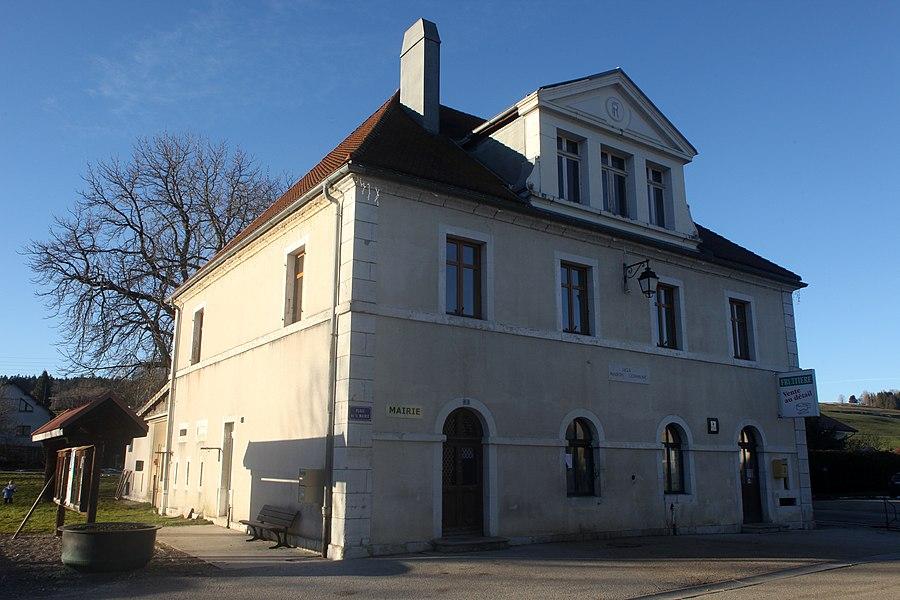 Mairie de Saint-Antoine (Doubs).