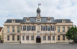 L'hôtel de ville de Troyes.