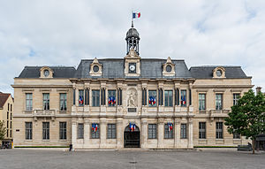 Troyes - Town Hall of Troyes