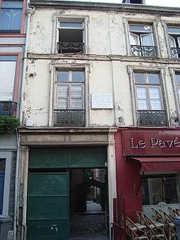 Maison natale de Louis Faidherbe à Lille