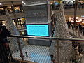 Mall of America Black Lives Matter justice4jamar protest rotunda sign, December 2015.jpg