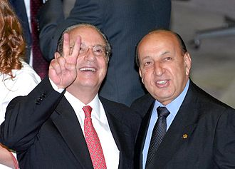 Paulo Maluf - Maluf and fellow Progressive Party Federal Deputy Simão Sessim in 2007.