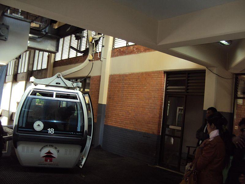 File:Manakamana Cable Car.jpg