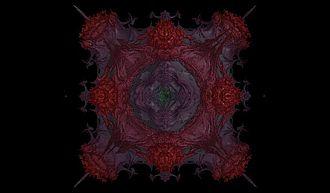Mandelbulb - Power nine fractal detail