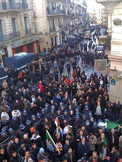 Manifestation Algiers RCD - 01222011.jpg