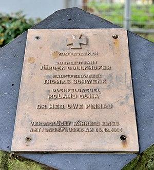 Fernmeldeturm Mannheim - Image: Mannheim Fernmeldeturm Gedenkstein 2