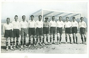 Mannschaftsfoto SC Germania Reusrath 1930