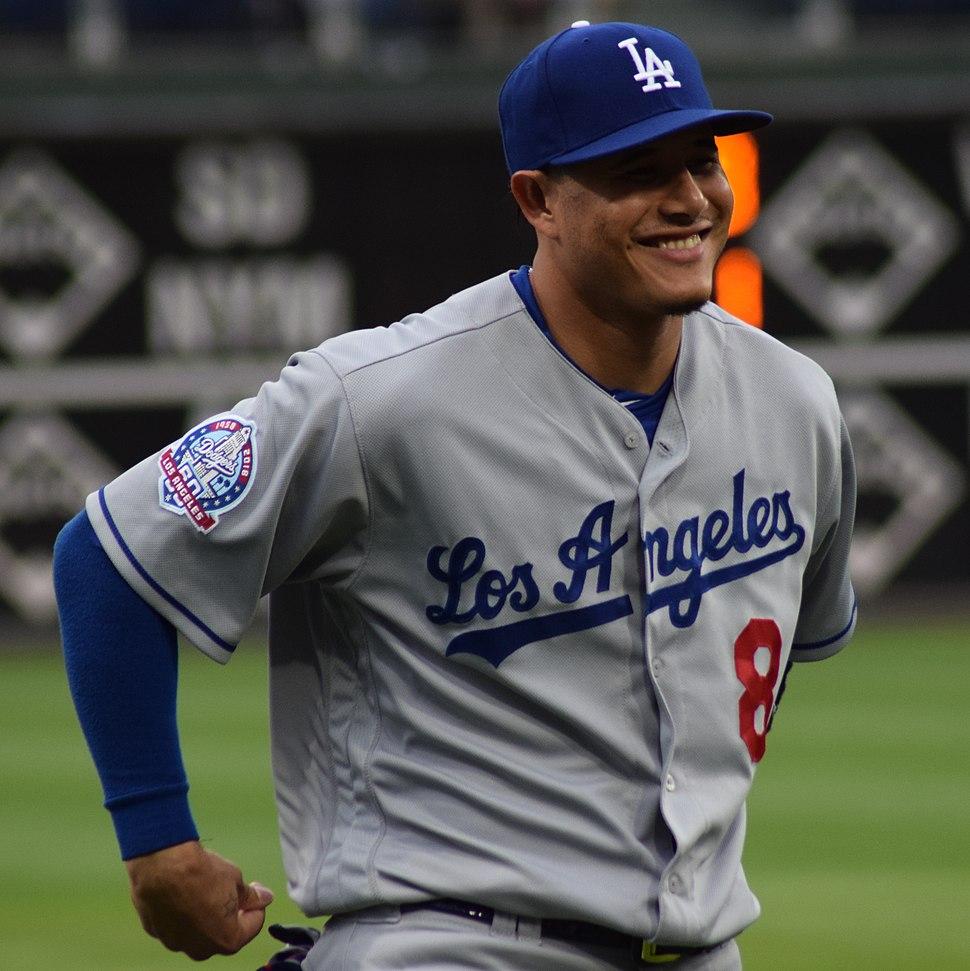 Manny Machado LA Dodgers 2018 (cropped)