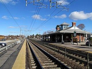 Mansfield station (MBTA) Commuter rail station in Mansfield, Massachusetts