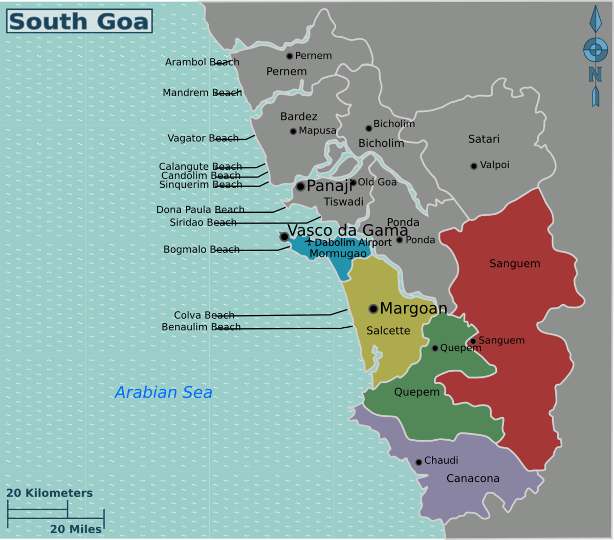 South Goa – Travel guide at Wikivoyage