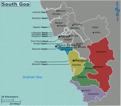 South Goa Travel Guide At Wikivoyage