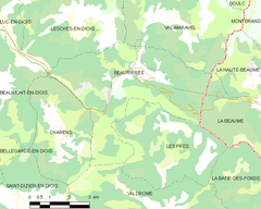 Map commune FR insee code 26040.png