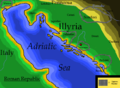 Map of Dalmatia (Illyria) focusing on a few tribes.png