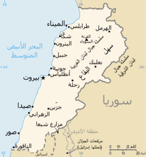 Map of Lebanon-ar.png