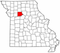 Map of Missouri highlighting Carroll County.png