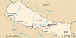 Map of Nepal (es).png