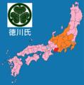 Map of Tokugawa clan.png