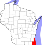Area of Wisconsin served by Three Harbors Council