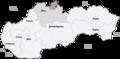 Map slovakia namestovo.png