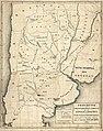 Mapa de la República Argentina - Limitación territorial de las provincias y demarcación de los territorrios nacionales presentado al Congreso Año 1869.jpg