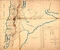 Mapa del viaje de Luis de la Cruz, de Concepción a Buenos Aires en 1806.jpg