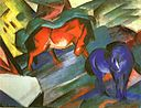 Marc-red and blue horses.jpg