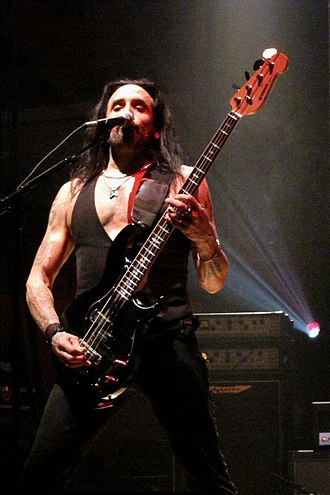 Marco Mendoza - Mendoza with Thin Lizzy at Aberdeen Music Hall, January 6, 2011