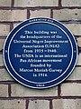 Marcus Garvey and UNIA plaque - 2 Beaumont Crescent London W14 9LX.jpg