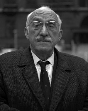 Marcus Lipton - Marcus Lipton CBE, 1968, by Allan Warren