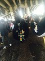 Mardi Gras Under the Claiborne Overpass 2014 Monogram Hunters 5.jpg