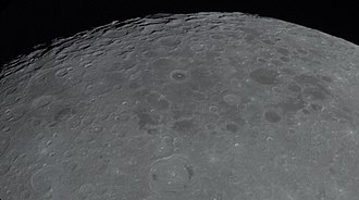 Mare Australe - A more distant view from Apollo 14
