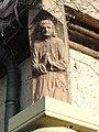 Maresché (Sarthe) Maison Le Colinet, sculpture de façade (01).jpg