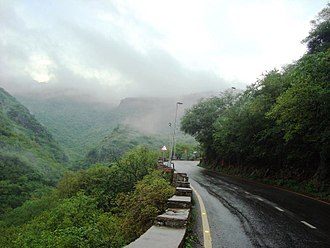 Islamabad - Islamabad's annual precipitation allows for the growth of lush forests in the city's hills.