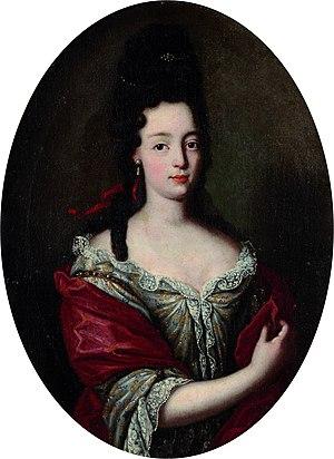 Maria Angela Caterina d'Este - Maria Angela Caterina by a follower of Rigaud