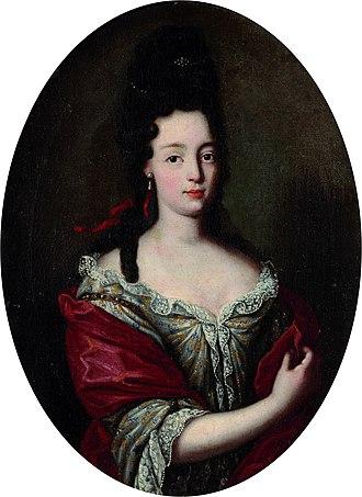 Emmanuel Philibert, Prince of Carignano - Maria Angela Caterina by a follower of Rigaud.