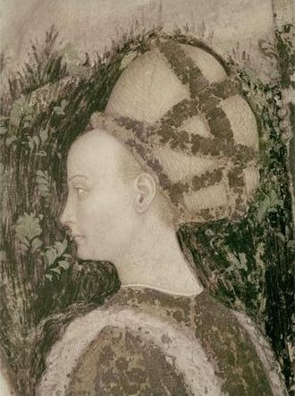 Maria of Trebizond - Maria, depicted in the fresco Saint George and the Princess by Pisanello