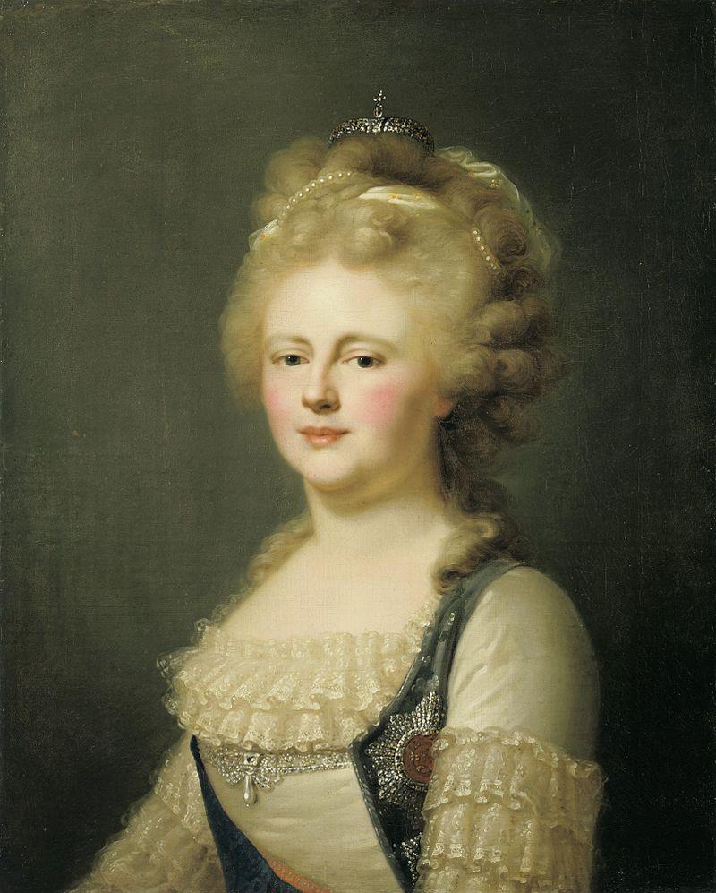 Мария Федоровна в честь Лампи (ок. 1796, музей Хиллвуд) .jpg