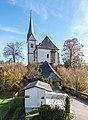 Maria Woerth Pfarrkirche hll Primus und Felician mit ueberdachtem Aufgang 06112015 8715.jpg