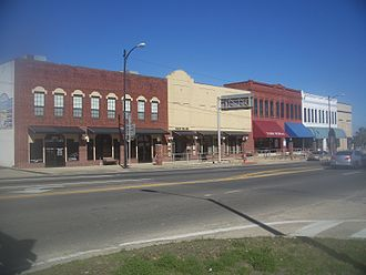 Marianna, Florida - Part of the historic downtown area