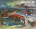 Marianne von Werefkin - City with Bridge and Dorse-Drawn Carriage.jpg