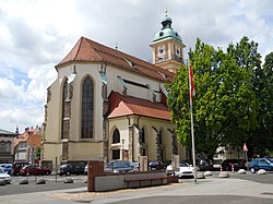 Maribor cathedral from east.JPG