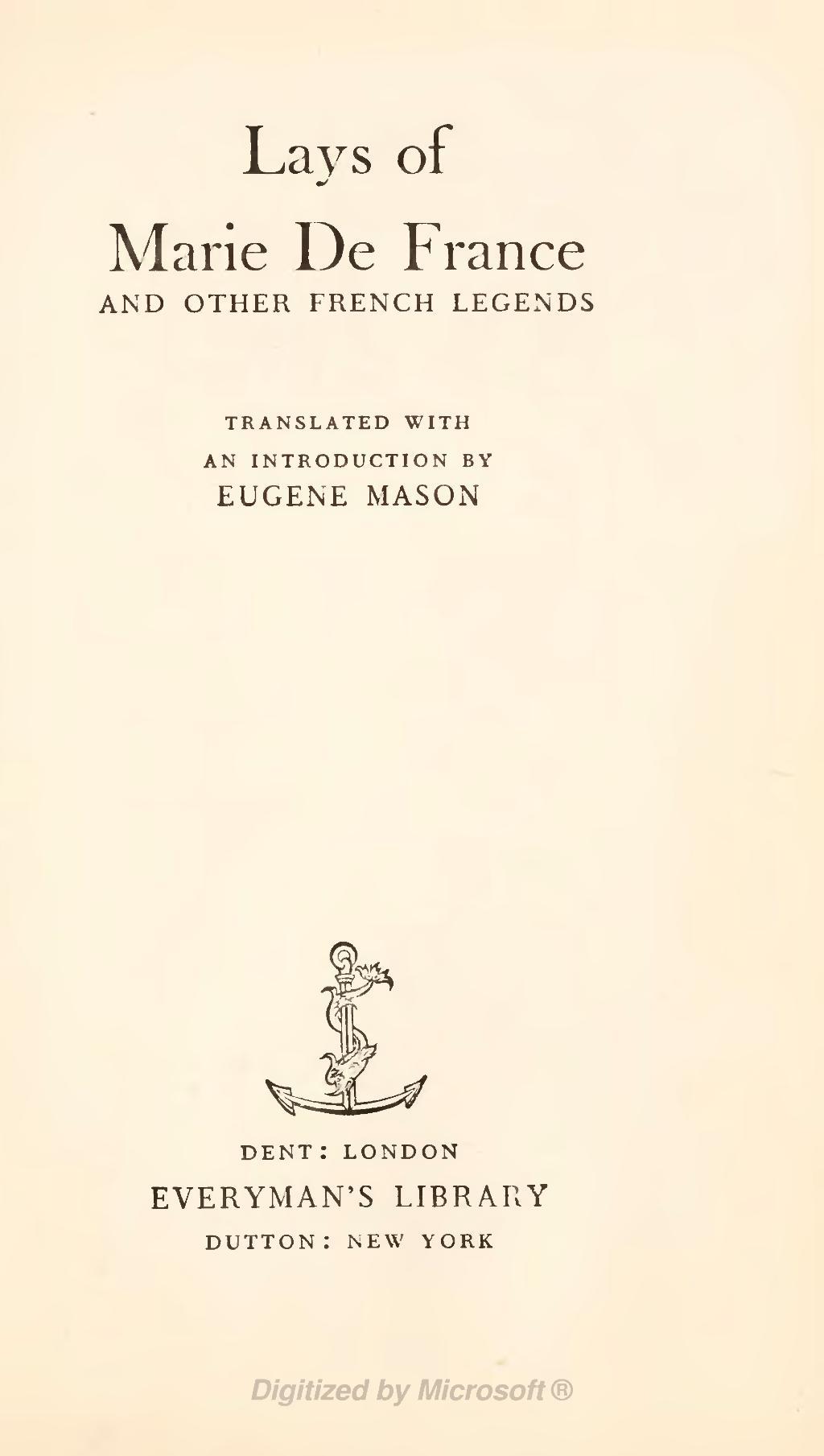 a review of feminism in lanval a book by marie de france Sharon kinoshita 'cherchez la femme': feminist criticism and marie de france's lai de lanval, romance notes 34 (1994): 263 [263-73] google scholar 19.
