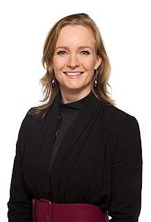 Marietje Schaake Dutch politician for D66