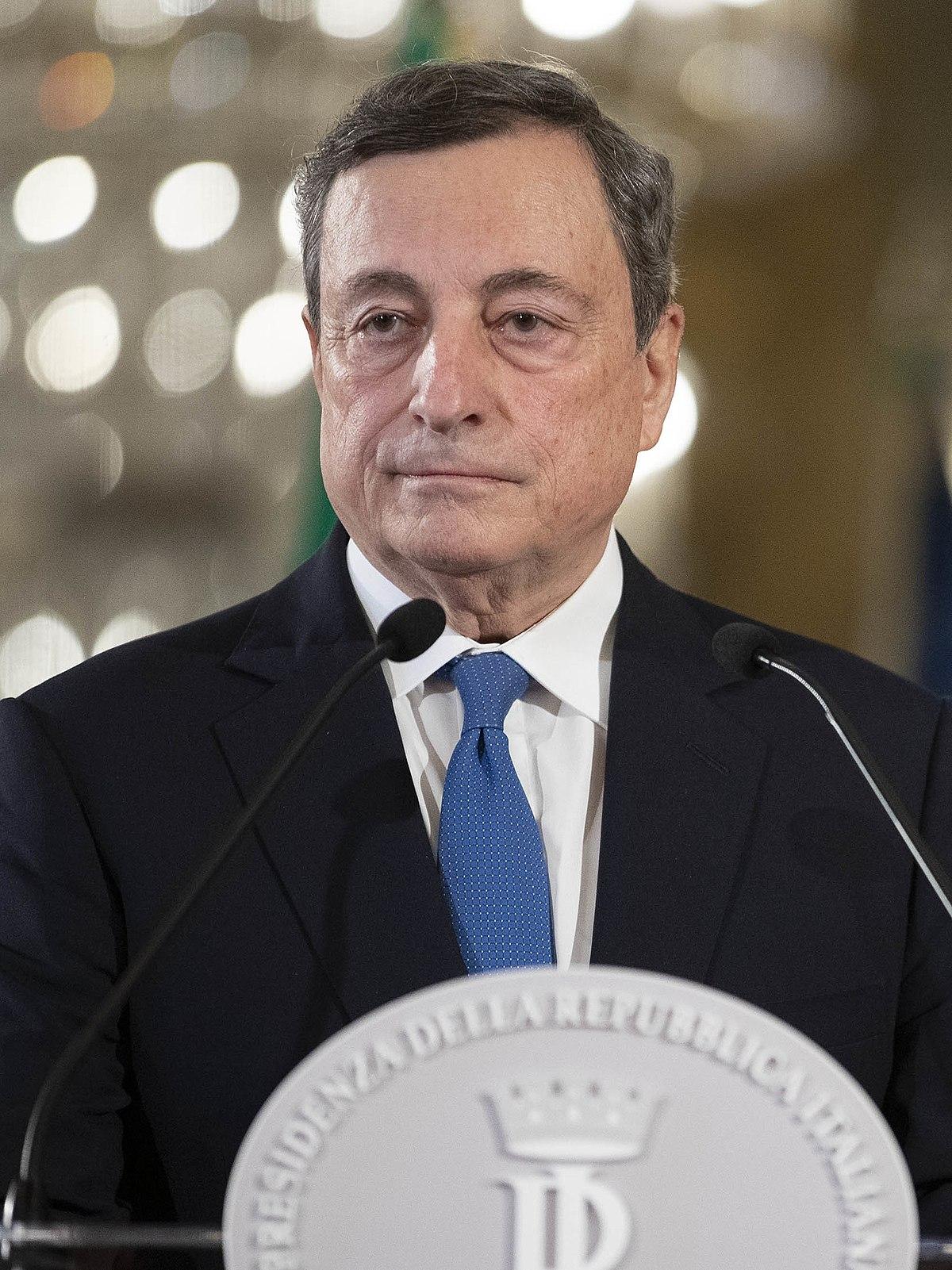 Risultato immagini per immagine e foto  di draghi premier italiano