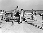 Mark-7 A-bomb being readied for mounting by members of the 8th Tactical Fighter Wing at Kadena AB.jpg