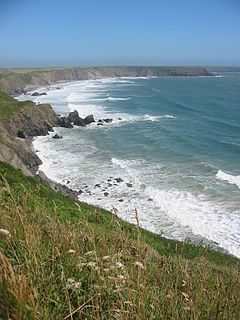 National Trail in Pembrokeshire, Wales
