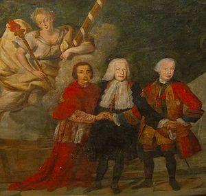 Sebastião José de Carvalho e Melo, 1st Marquis of Pombal - The Marquis and his brothers, the Grand Inquisitor and the Governor-General of Grão-Pará.